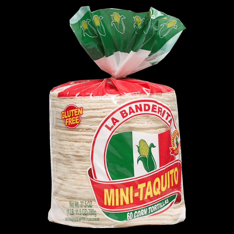 1182 - La Banderita Mini Taquito - Side