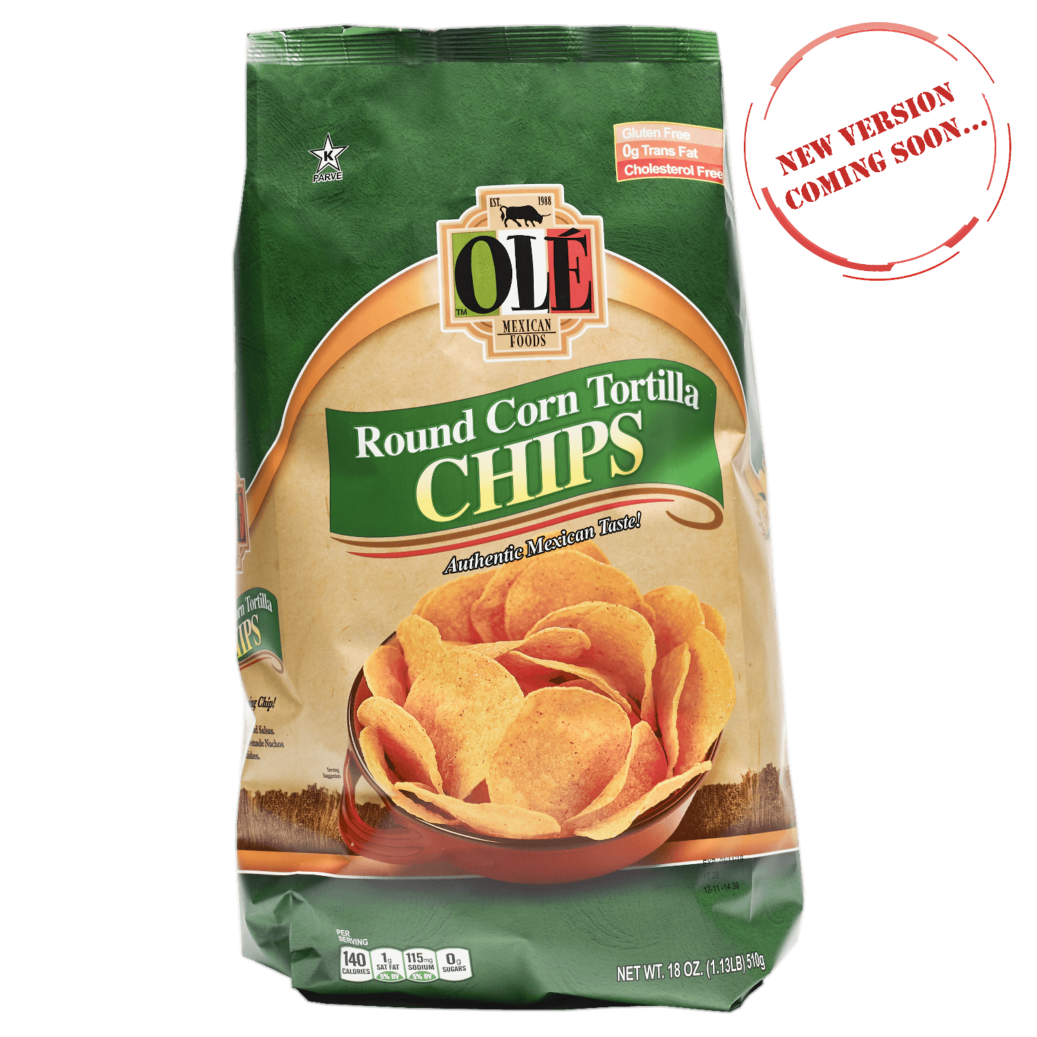 2973 Ole Round Chips - Front (New Version)