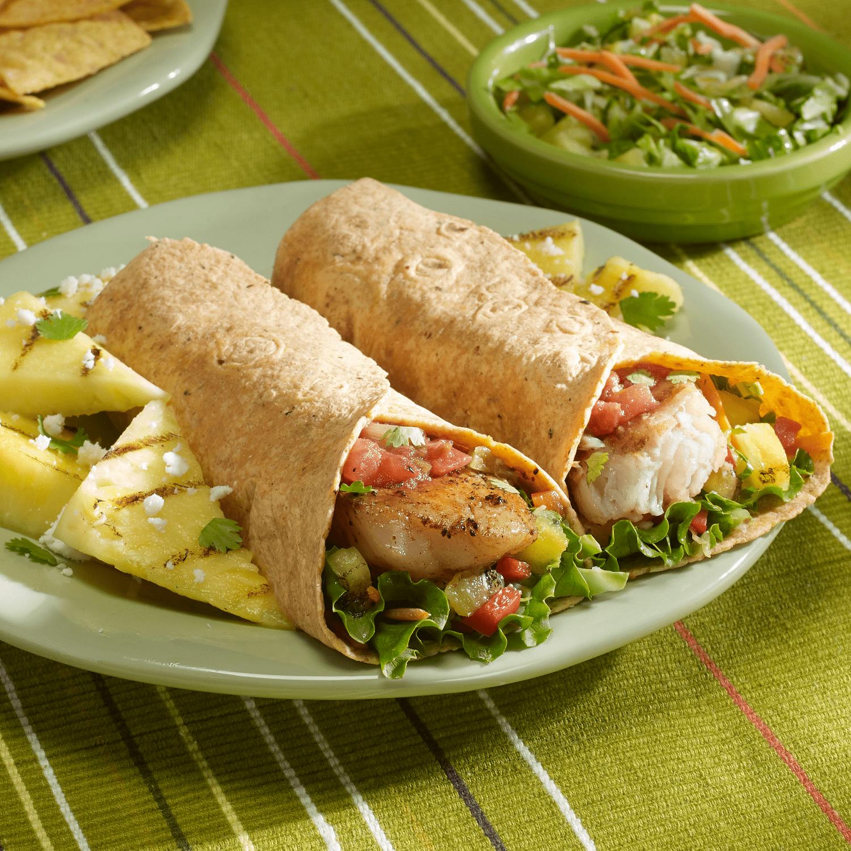 3222 - La Banderita Soft Taco Whole Wheat - Dish-min