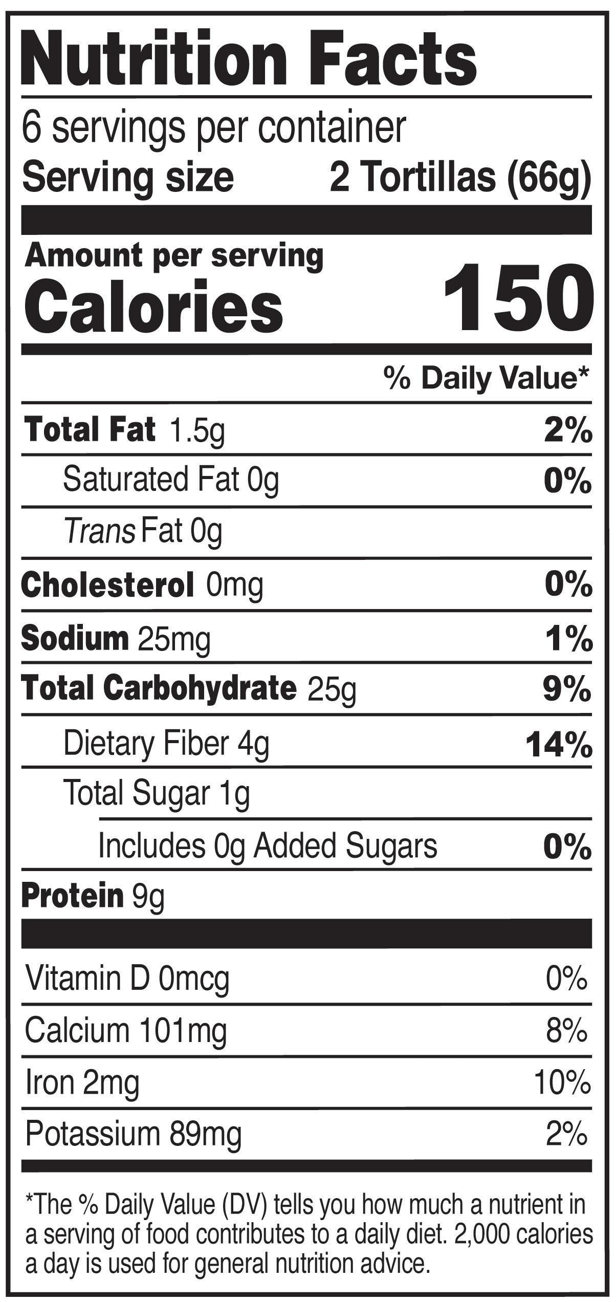 Ole Xtreme Protein Plus Corn Tortillas