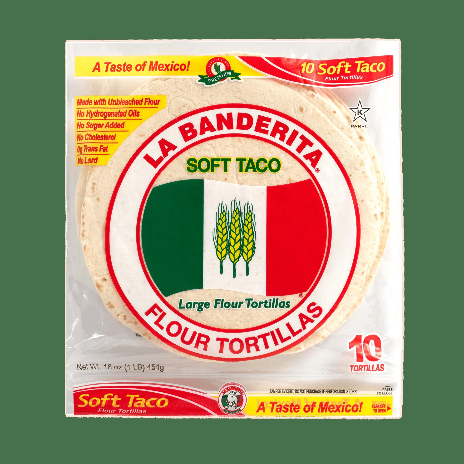 0110 - La Banderita Sort Taco - Front