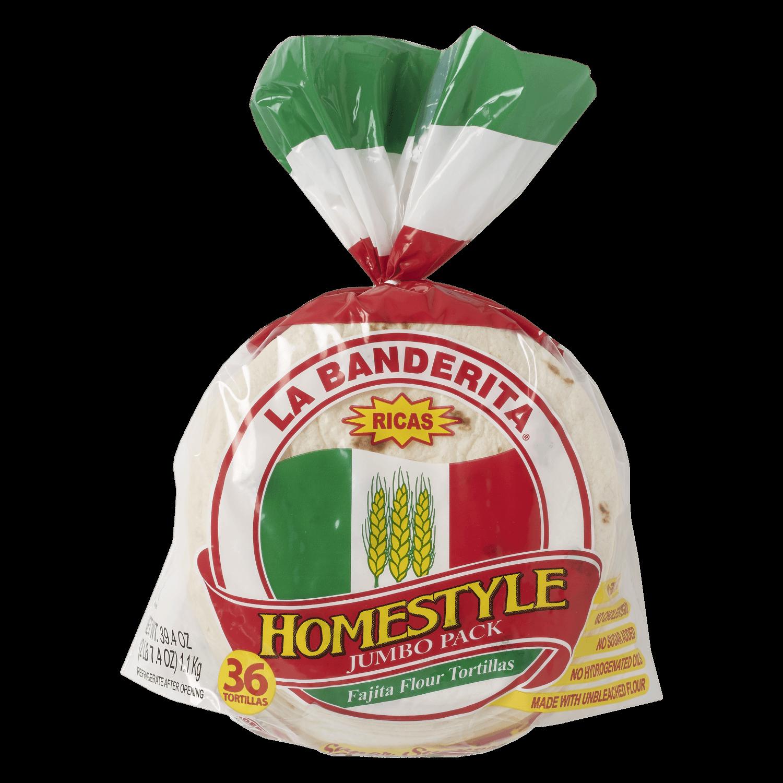 1015 - La Banderita Homestyle 36ct - Front