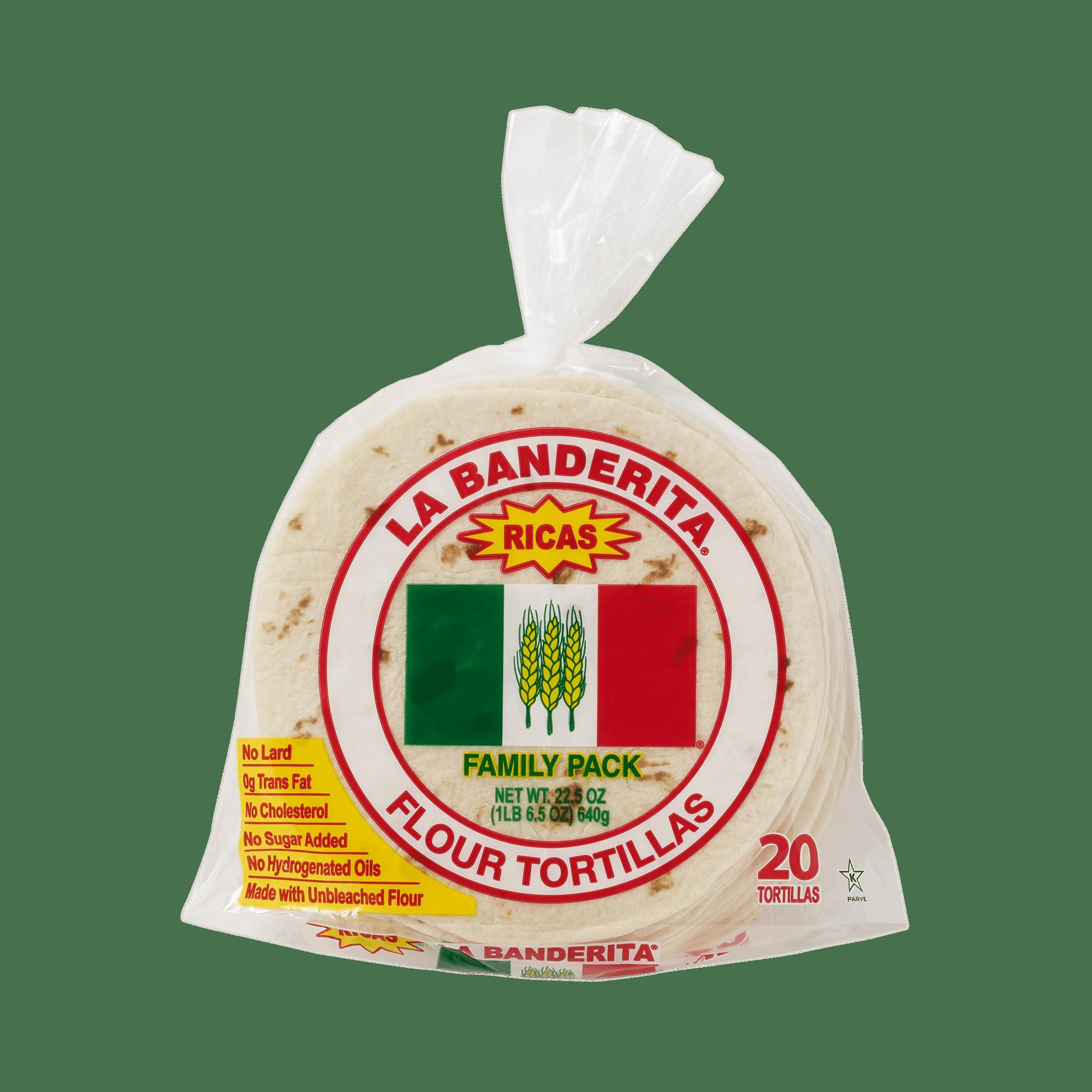 La Banderita Family Pack - Front