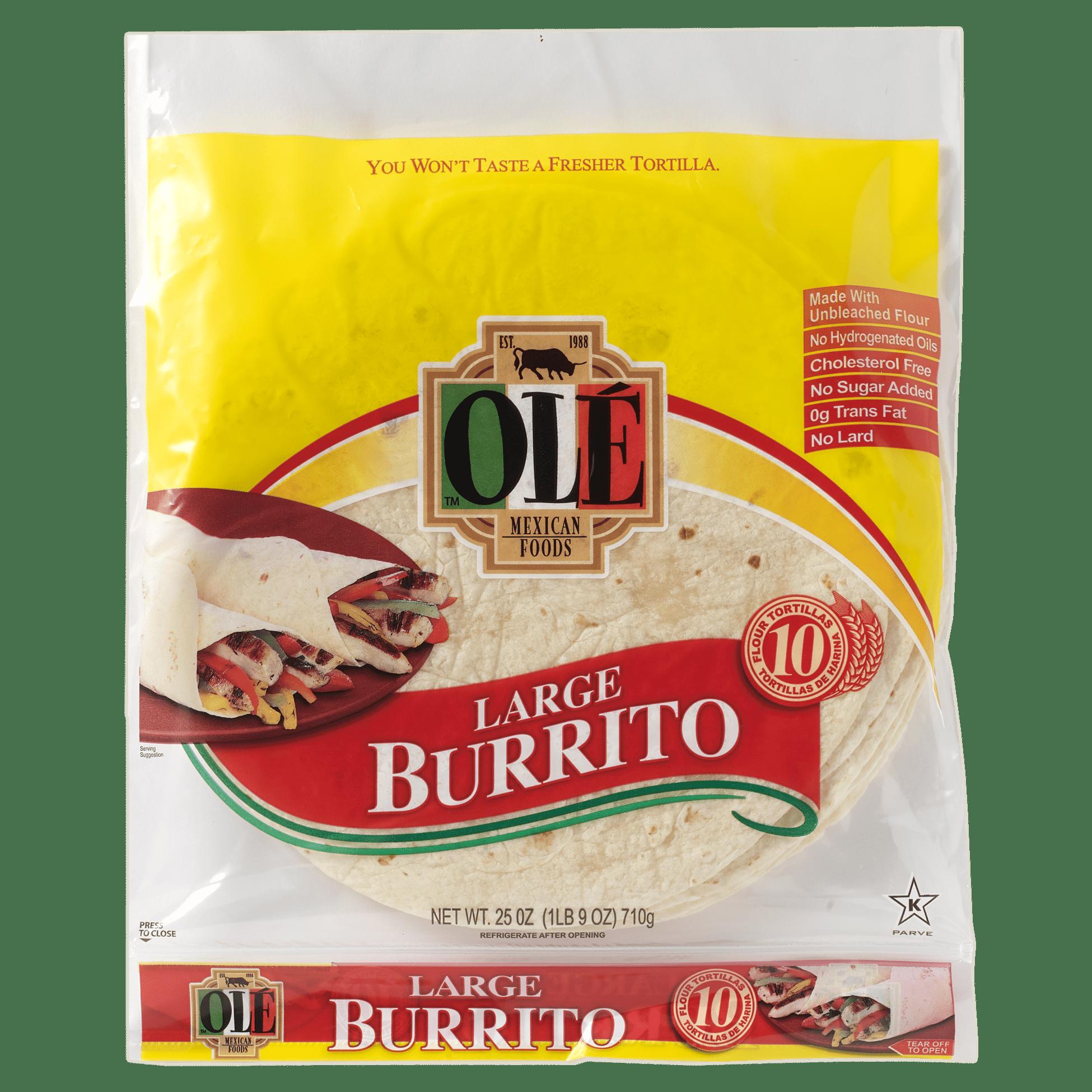 Ole Burrito Grande - Front