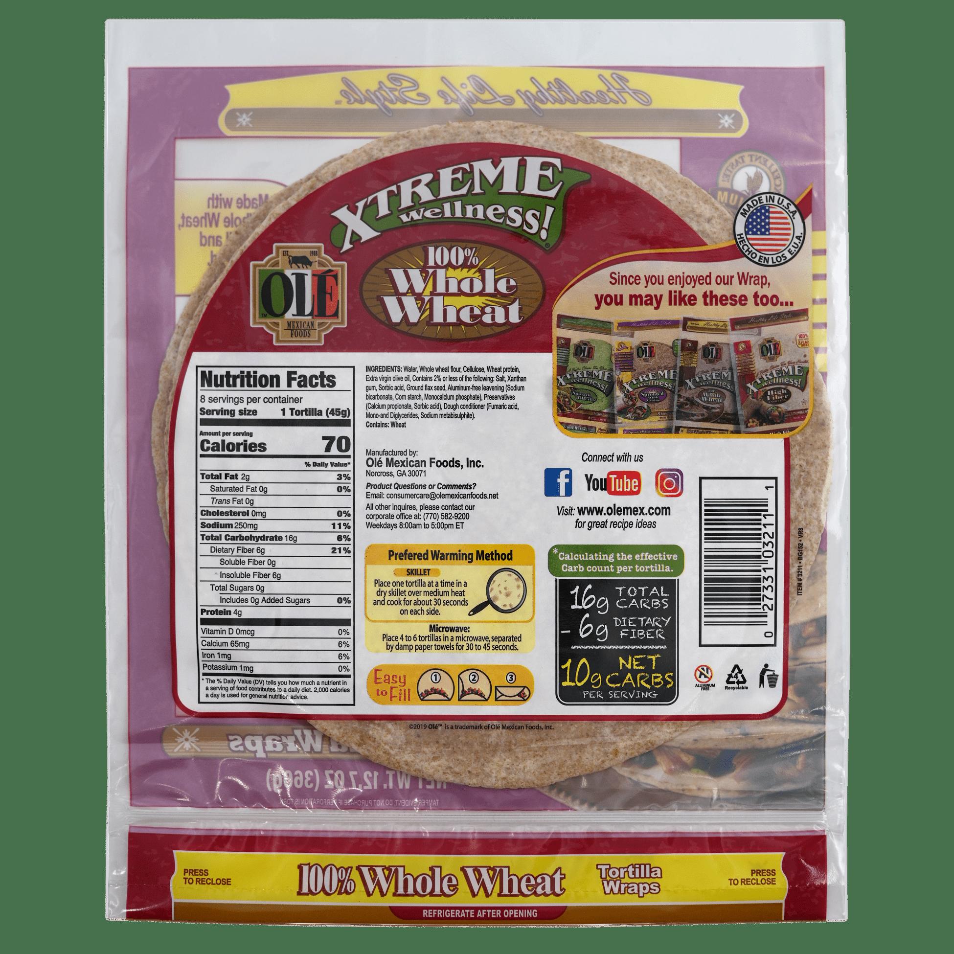 Xtreme Whole Wheat - Back